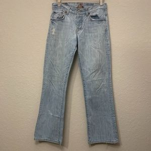 Lucky Brand Distressed Jeans in Easy Rider…